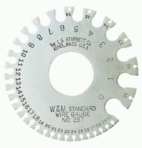 Steel wire gauge_